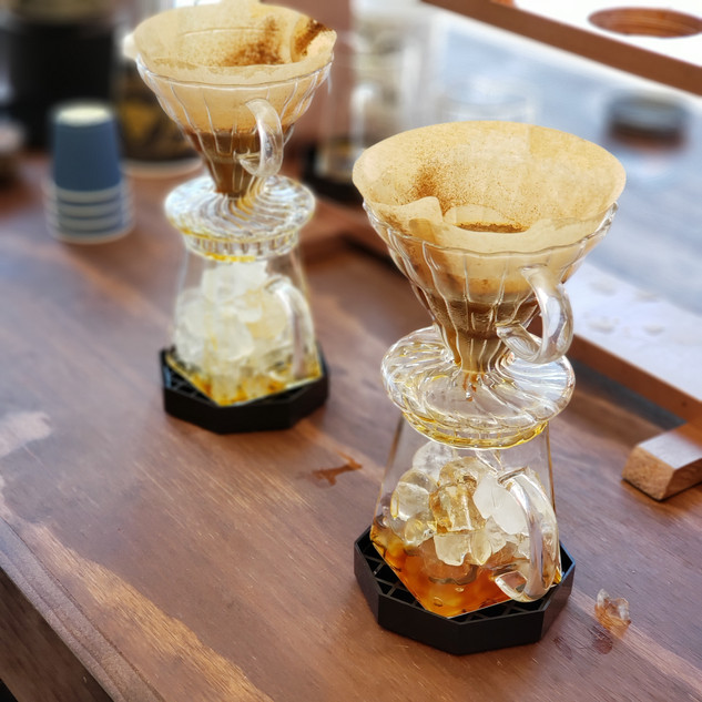 Iced Pour Overs