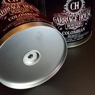 Reusable Coffee Canister