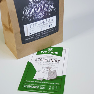 Compostable Bags and Labels - Craft Coff