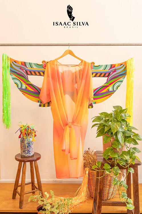Kimono laranja