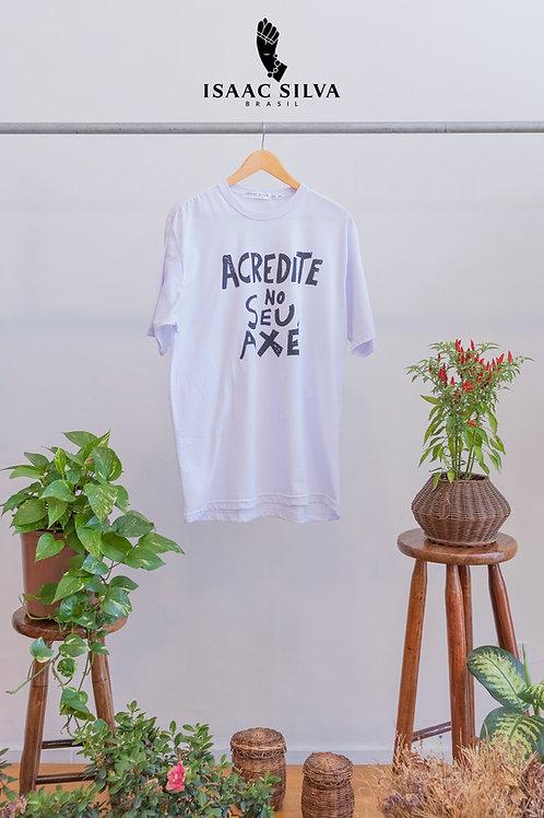 Camiseta Acredite no seu Axé - Grande
