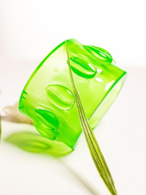 Pulseira búzios - verde