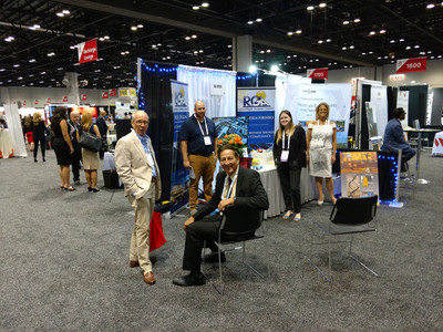 Picture of RGA team members at our booth