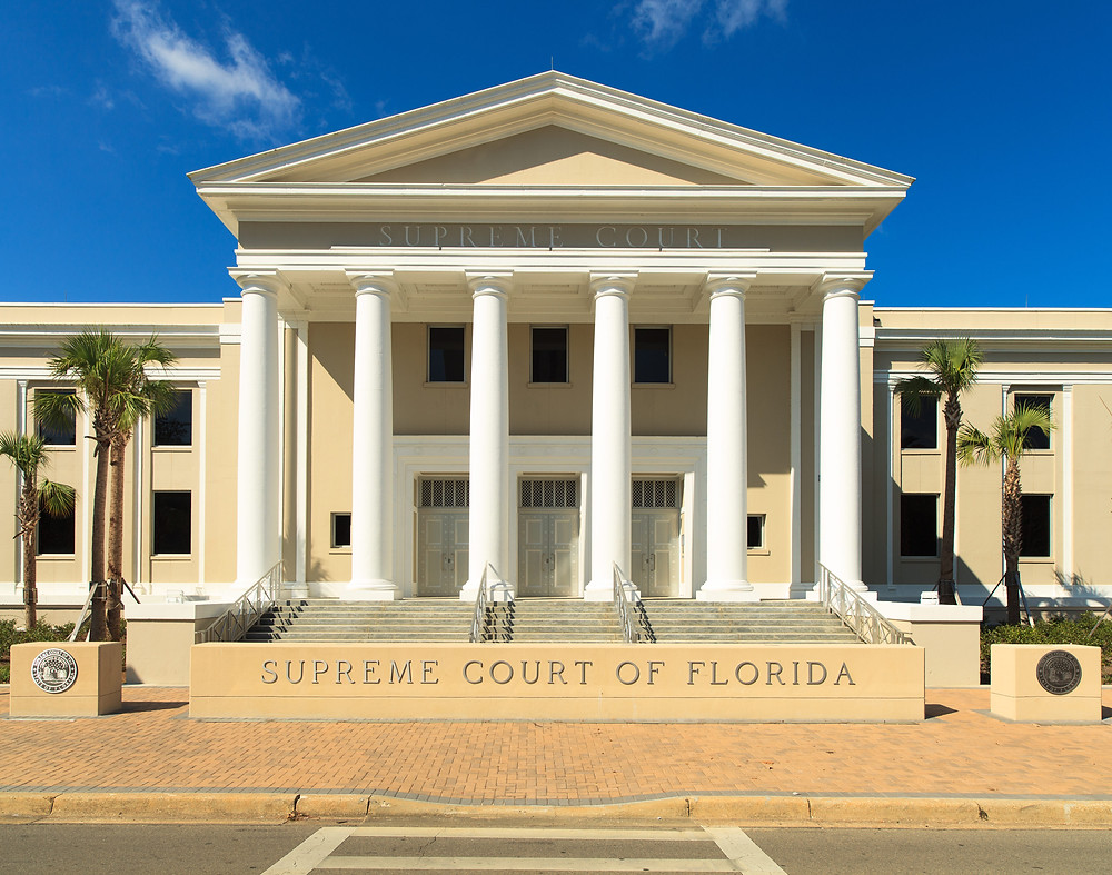 Picture of the Florida Supreme Court's courthouse