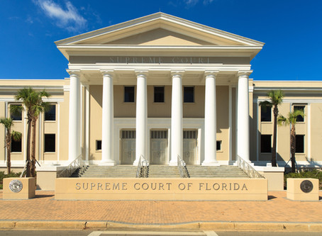 The Florida Supreme Court Changes Standard for Expert Witnesses
