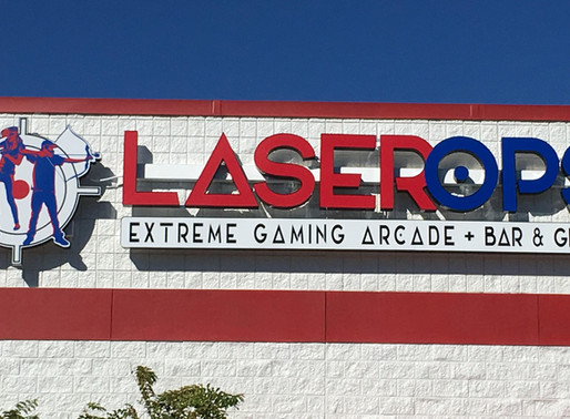 Turning an Old Tax Collector's Office into Laser Ops Extreme Gaming Arcade