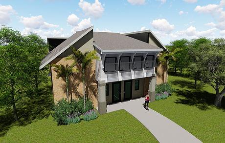 Grad Pavilion rendering