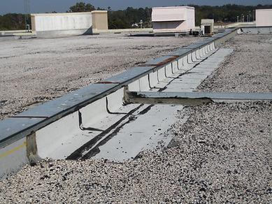 Bloomingdale roof before