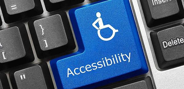 Keyboard wih Accessibility key