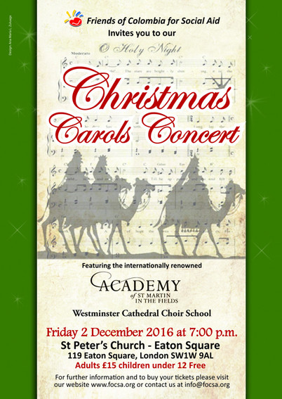 FOCSA Christmas Carols Concert 2016