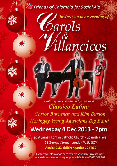 FOCSA Christmas Carols & Villancicos 2013