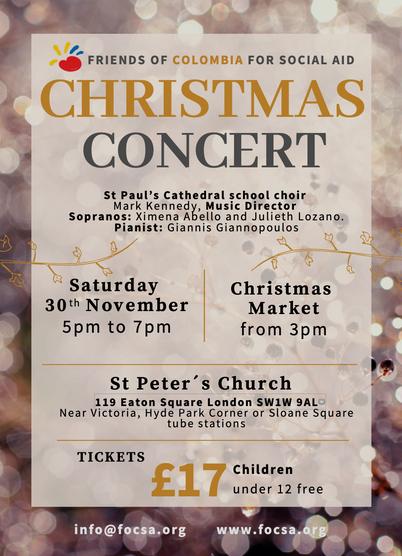 FOCSA Christmas Carols concert 2019