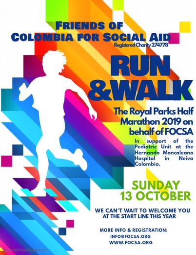 Royal Parks Half-Marathon 2019