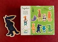 Puzzles magnétiques de 8 animaux en 3 pièces