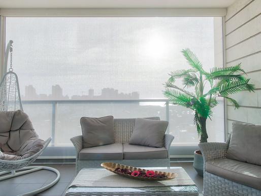 צל וילון – טרנד עיצובי חדש, סגירת מרפסת וסוככי מסך