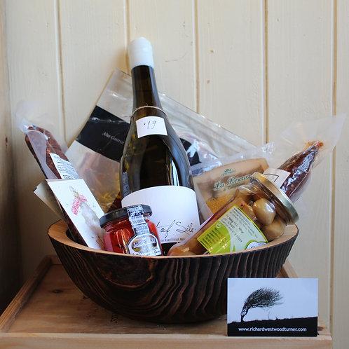 Chard Pine Bowl & Artisan treats Gift