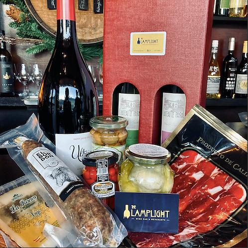 Artisan Food Hamper / Add Wine of choice
