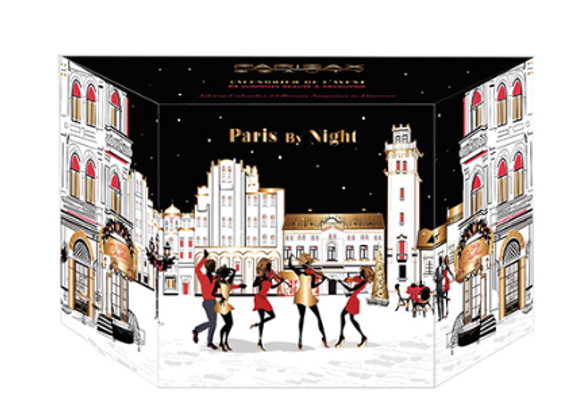 "CALENDRIER DE L'AVANT:  ""PARIS BY NIGHT"" parisax"