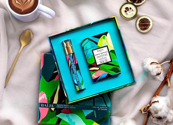 "COFFRET Baija ""Sieste Tropicale"" (parfum + savon)"