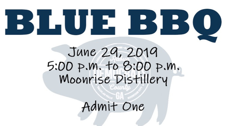 Blue BBQ - SOLD OUT!