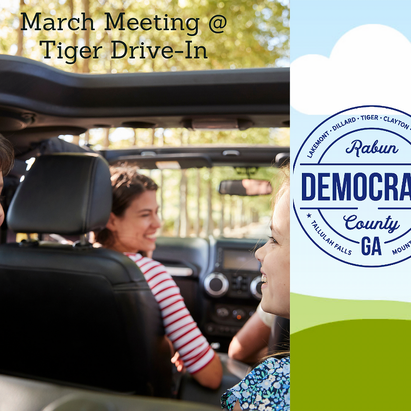 MONTHLY MEMBERSHIP MEETING - TIGER DRIVE-IN