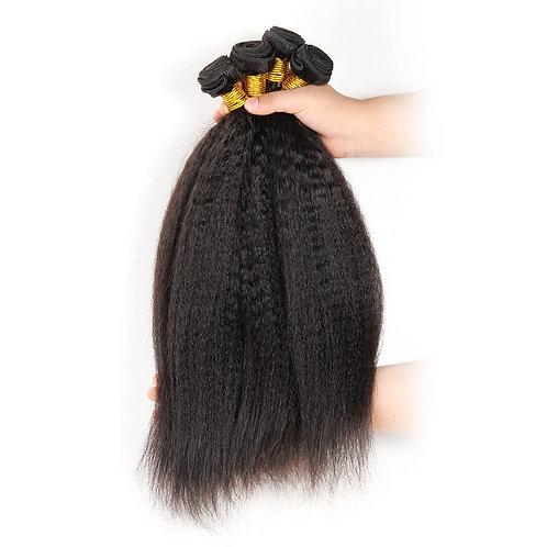 10A Yaki Course Virgin Hair 4pc