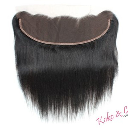 10A Straight/Kinky Curly 13x4 Frontal 10pc