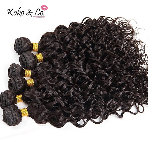 Water Wave Virgin Hair 3pc