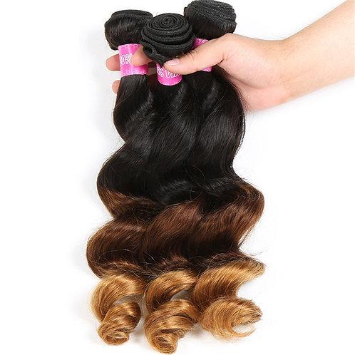 1B/4/30 Loose Wave Virgin Hair 4pc