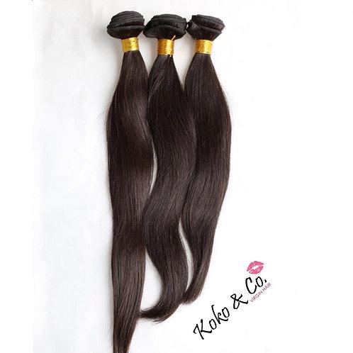 10A Straight Virgin Hair 3pc