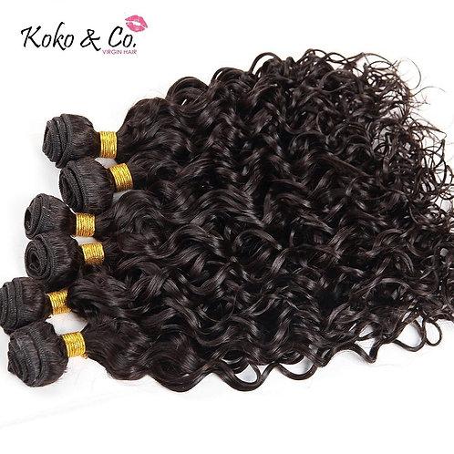8A Water Wave Virgin Hair 10pc