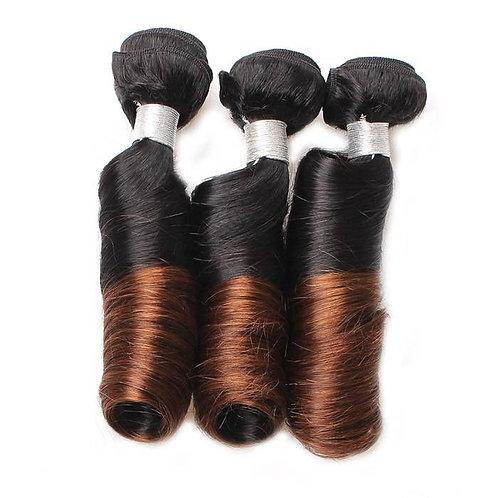 10A Spring Curl 1B/4 Virgin Hair 3pc