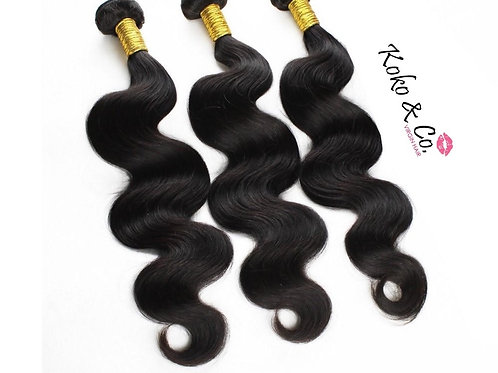 Body Wave Virgin Hair 3pc