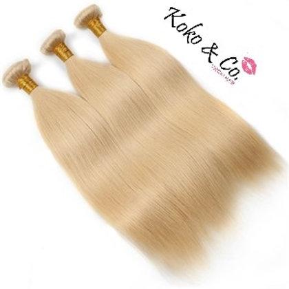 #613 Blonde Straight 3pc