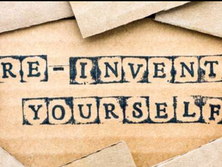 How To Re-Invent Yourself
