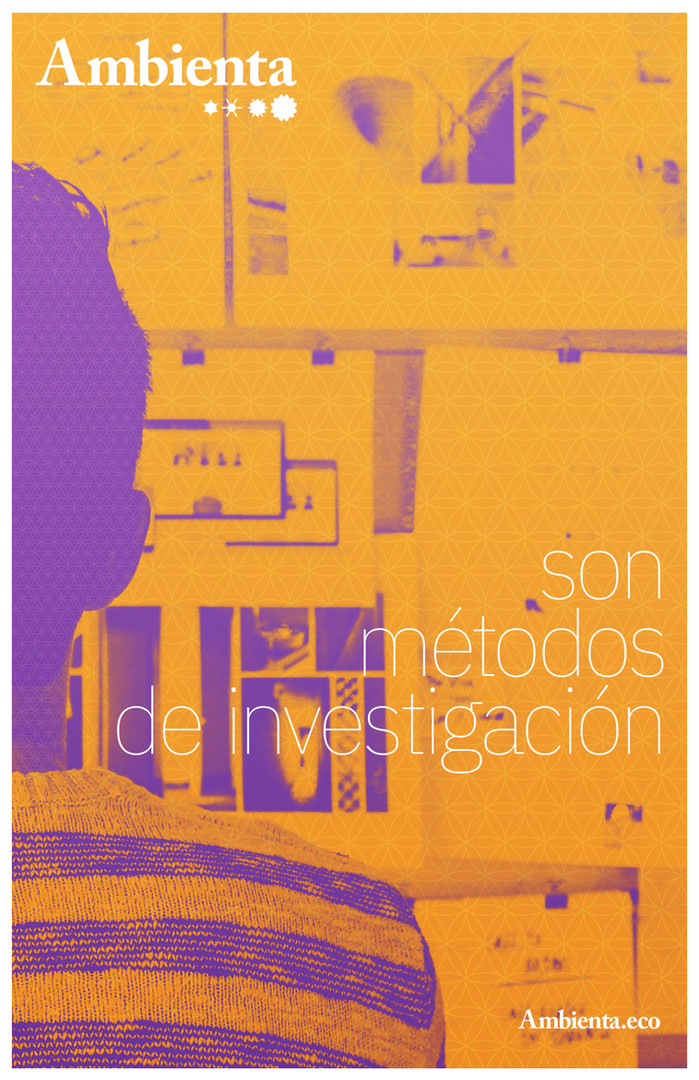 posters ambienta tabloide-metodos invest