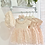 Thumbnail: Girls Pink 3 Piece Set - Dress , Knickers & Matching headband