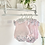 Thumbnail: Baby girls Floral Bow Jam Pant Set -