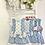 Thumbnail: Del Sur - Girls Blue spotty Dress