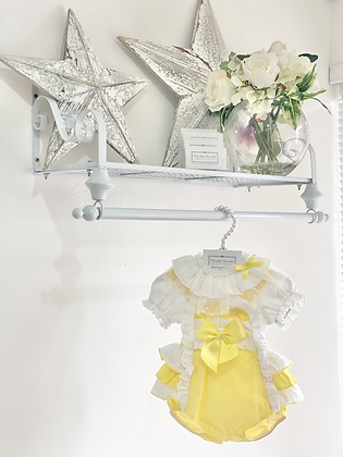 Baby Girls Blouse & frilly bum Romper