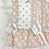 Thumbnail: Del Sur - Girls Dusky Pink spotty Dress
