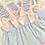 Thumbnail: Linen Dress Set-BLUE/PINK
