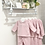 Thumbnail: Baby Girls Diamond Loungewear set - DUSKY PINK