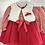 Thumbnail: Baby Girls Tulle Dress and Gillet Set - RED