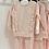 Thumbnail: Girls frill Loungewear Set 2y-14yrs - PINK