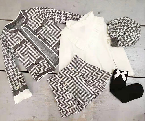 Girls 5 piece Grey set
