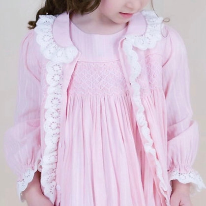 Hand smocked night dress & gown