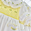 Thumbnail: Hand smocked embroidered  2 piece Dress set