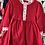 Thumbnail: Girls Red & White Dress 3y-14yrs