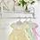 Thumbnail: Baby Girls Classy Bow Dress  - Mint